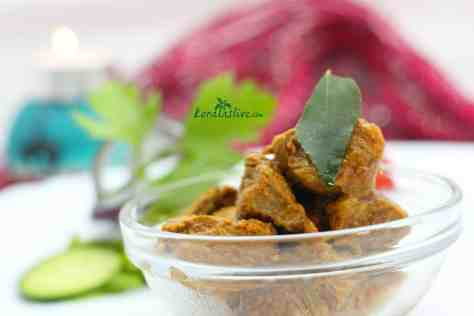 Nadan lamb curry - The Nadan dishes from Kerala are prepared scratch mainly using the locally available ingredients.