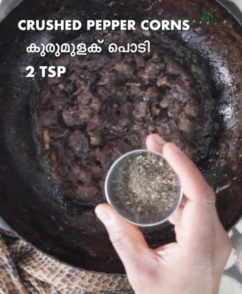 add 2 teaspoons of crushed pepper