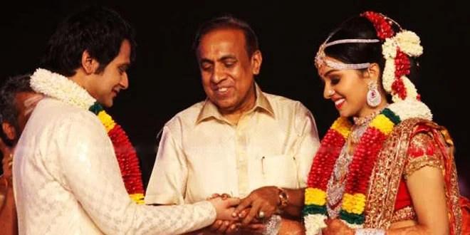 Ravi Pillai's Daughter Wedding Photos