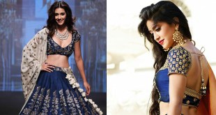 Blue Color Lehengas