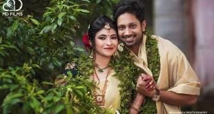Wedding Photos ofActor Rajith Menon with Sruthi Mohandas