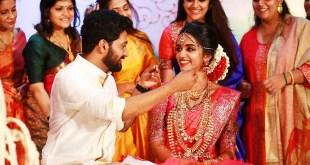 Actor Vishnu G Raghav Marriage Photos