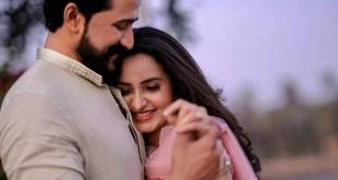 Actress Bhama Engagement Photos