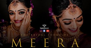 Stunning Bridal Shoot Of Meera Anilkumar