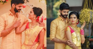 TikTok Stars Sheethal Elza And Vinu Vinesh Wedding Photos