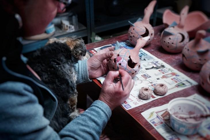 Vytváření keramiky