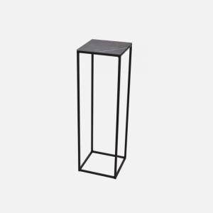 Keramische tafels Nero Opaco Zuil Enkel productfoto