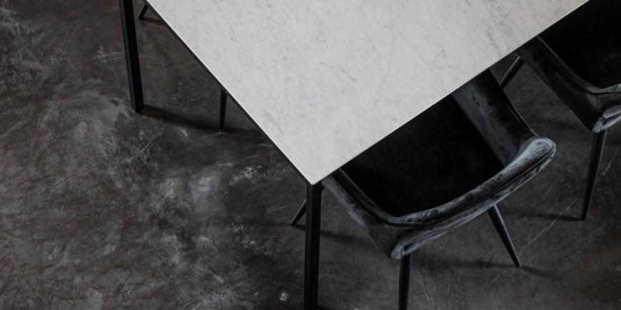 Ga voor een frisse look met een keramische tafel in je interieur!