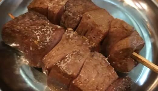 本日の夕食は高田馬場の『おとんば』さんで焼きとん。