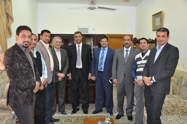 لقاء المركز مع وفد لجنة التعليم في مجلس المحافظة 22