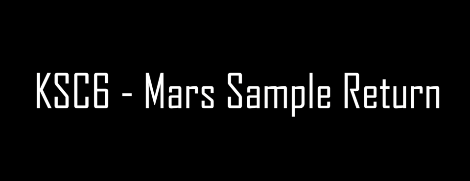 KSC- Mars Sample Return - Bandeau Titre V2