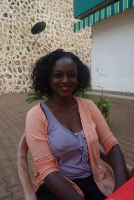 Achola Rosario aus dem Wahlkampfteam von Amama Mbabazi