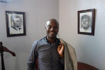 Andrew Mwenda - Herausgeber von The Independent
