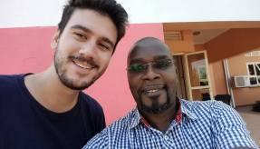 Science-Selfie - Mohles hat drauf bestanden