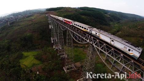 Jembatan Cikubang dan kenampakan Tol Cipularang foto: DJI Phantom