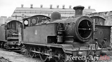 Lokomotif uap LB&SCR E2 class yang menjadi inspirasi karakter Thomas