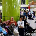 Pasca Demo, Stasiun Gambir Kembali Beroperasi Seperti Biasa