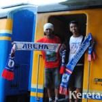 KAI Filter Penumpang Aremania & Siapkan Pengamanan Ketat di Stasiun Bandung