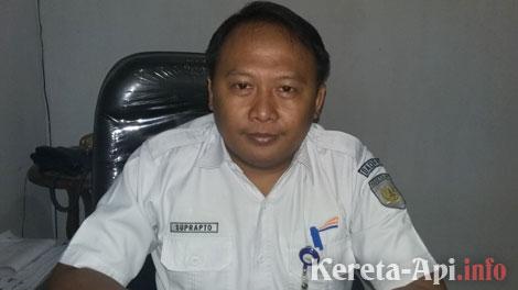 Humas PT Kereta Api Indonesia (KAI) DAOP I Jakarta, Suprapto - www.rri.co.id