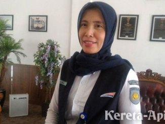Aida Suryanti, Manajer Humas PT Kereta Api Indonesia (KAI) Divre III Palembang - rayapos.com
