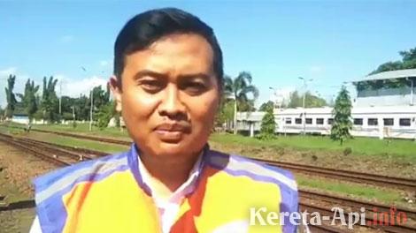 Ixfan Hendriwintoko, Manajer Humas PT KAI Daop 5 Purwokerto - www.antarajateng.com