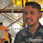 Pembangunan Stasiun Kereta Bandara Soekarno-Hatta Masuki Tahap Final