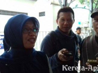 Wakil Ketua PT KAI Daop VI Yogyakarta, Ida Hidayati - solo.tribunnews.com