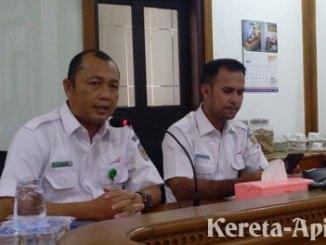 Joni Martinus, Manajer Humas PT KAI Daop II Bandung - www.tribunnews.com