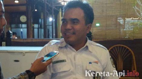 Luqman Arif, Manajer Humas PT KAI - www.radiobintangtenggara.com
