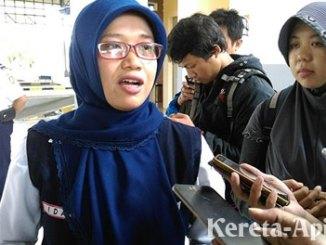 Ida Hidayati, Wakil Kepala PT KAI Daop VI Yogyakarta - www.jawapos.com