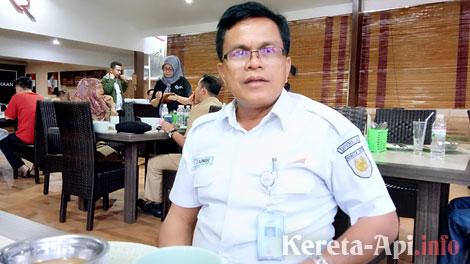 Zainir, Humas PT Kereta Api Indonesia (PT KAI) Divisi Regional Sumatera Barat - imapadang.or.id
