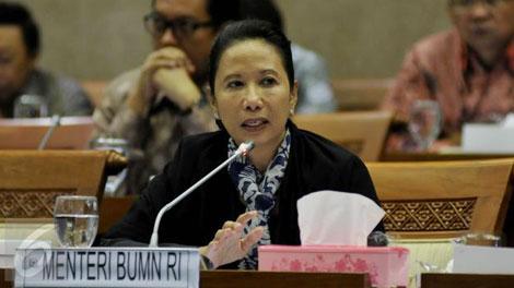 Rini Soemarno, Menteri BUMN - www.liputan6.com