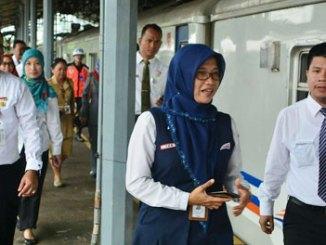 Ida Hidayati, Kepala Daop 3 Cirebon - bebasmacet.com