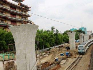 Lintasan Kereta Api Kota Medan - www.beritasatu.com