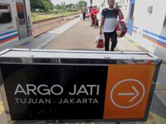PT KAI akan mengganti nama Argo Jati menjadi Argo Cheribon