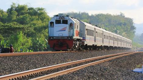 Ilustrasi : Kereta api milik PT KAI