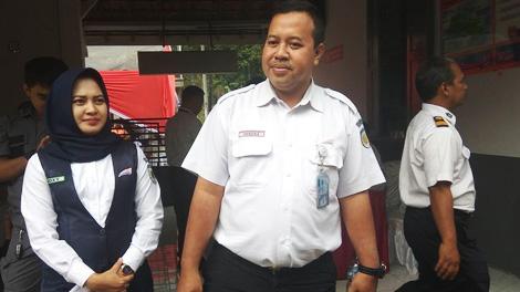 Hendra Wahyono, Plt Manajer Humas PT Kereta Api Indonesia (KAI) Daerah Operasi (Daop) 5 Purwokerto - regional.kompas.com