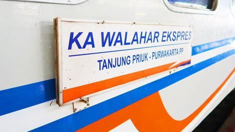 Kereta Api Walahar - (YouTube: Hamid Railfans PRP)