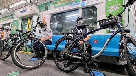 Aturan Bawa Sepeda dalam Kereta Api