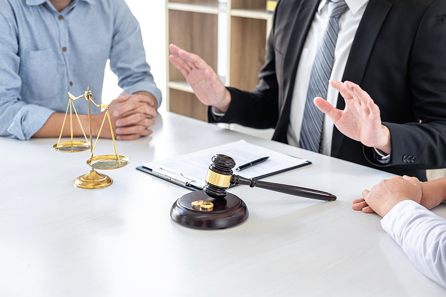 property division in a divorce