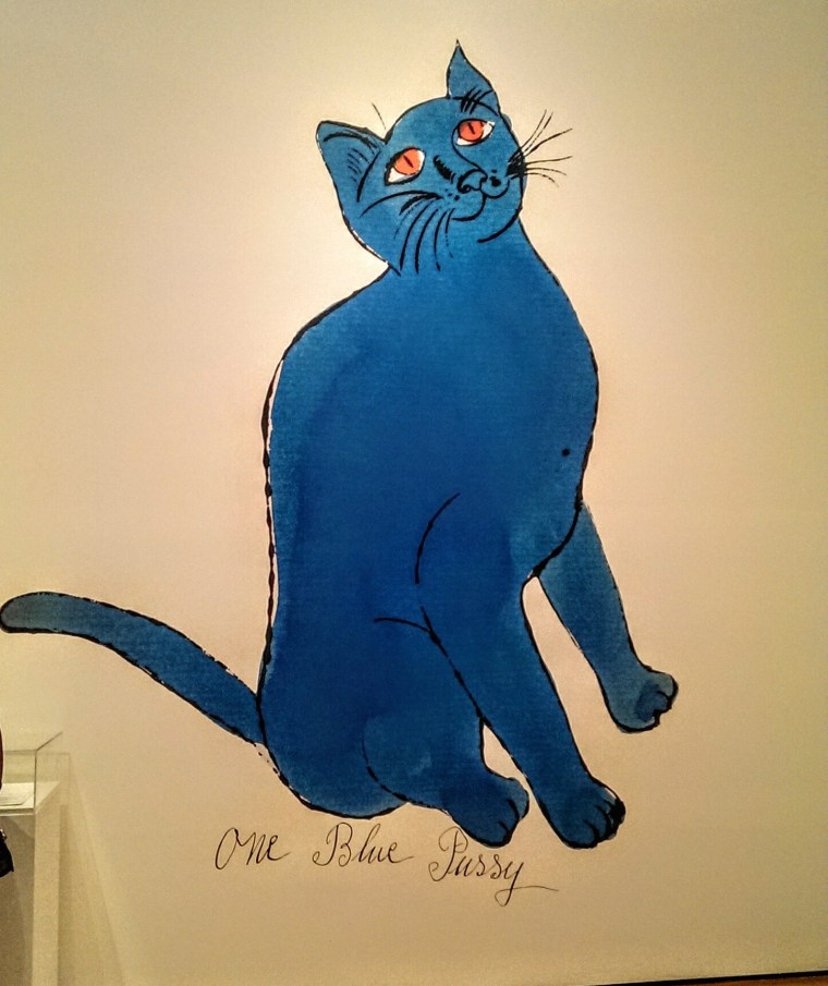 Andy Warhol One Blue Pussy
