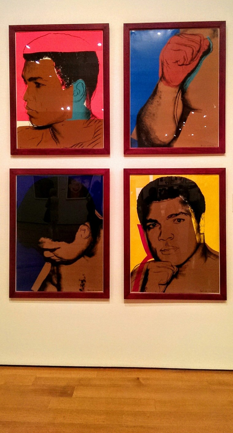 Mohommad Ali Andy Warhol