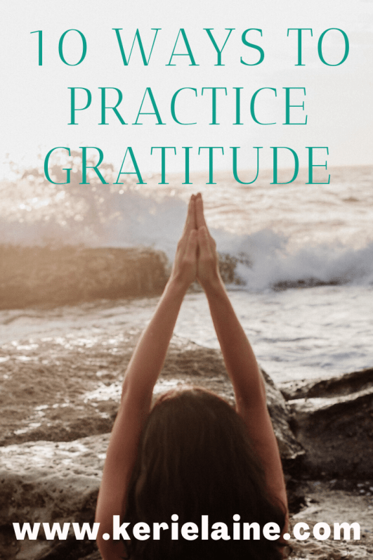 10 way to practive gratitude