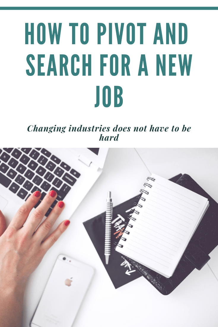Job Search Pivoting Industries