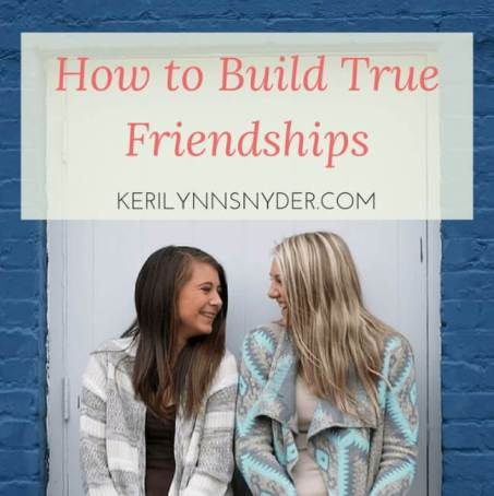 Choosing kindness with our friendships- tips to do so