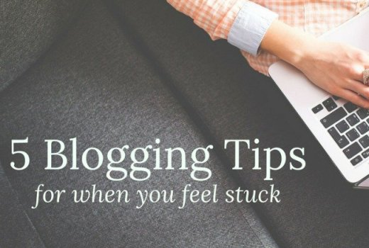 5 Tips for Blogging to Help You Not Feel Overwhelmed