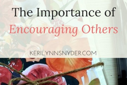 How to encourage others even when you are busy
