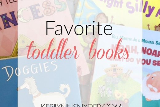 Favorite Books for Toddlers