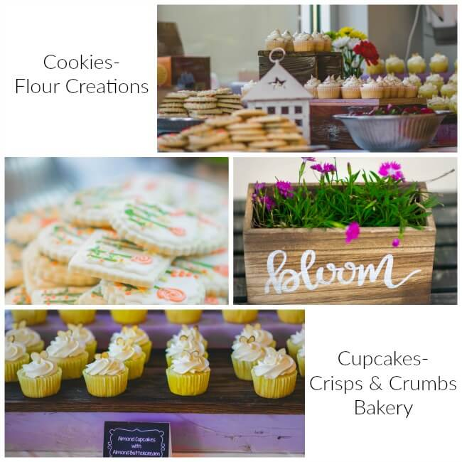 Bloom- Cookies and Cupcakes
