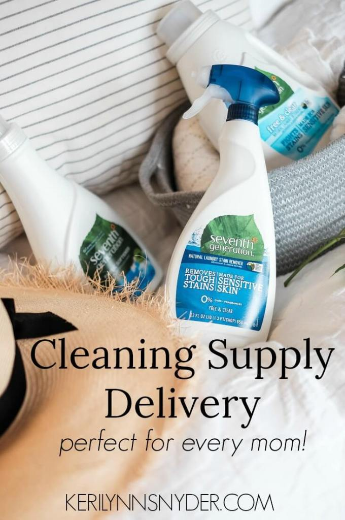 Get cleaning and household supplies (hello laundry detergent) sent right to your doorstep!